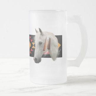 Potro indio taza de cristal