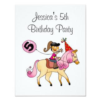Potro lindo y 5to fiesta del chica del cumpleaños