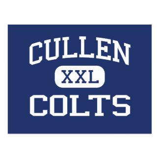 Potros Corpus Christi medio Tejas de Cullen Postal