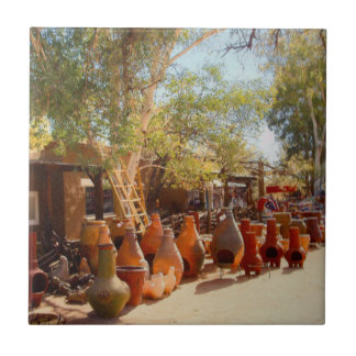 Pots and Ladders, Tubac Ceramic Tile