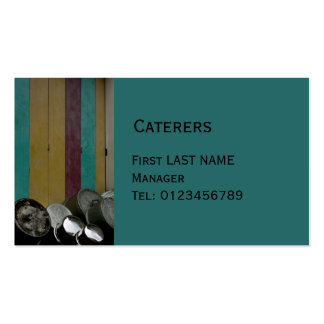 Pots and Pans green Business Card