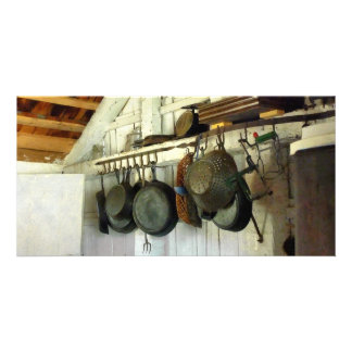 Pots in Kitchen Photo Card