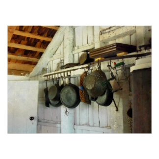Pots in Kitchen Poster