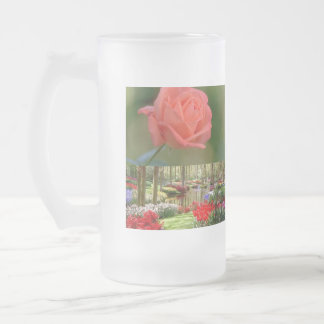 Pots, mugs, flowers pots, flowers gifts travel gif 16 oz frosted glass beer mug