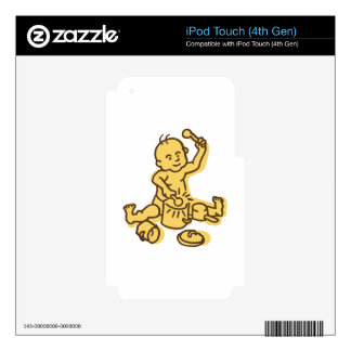 Pots & Pans Baby Decals For iPod Touch 4G