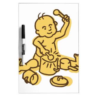 Pots & Pans Baby Dry Erase Board
