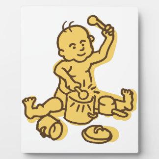 Pots & Pans Baby Plaque
