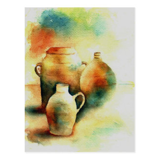 Pots Postcard