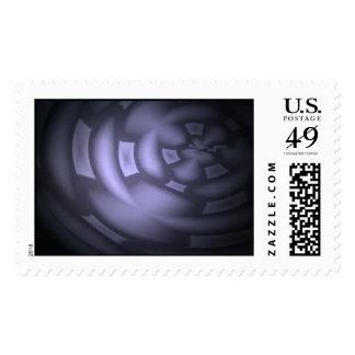 Potsdam Purple Postage Stamps