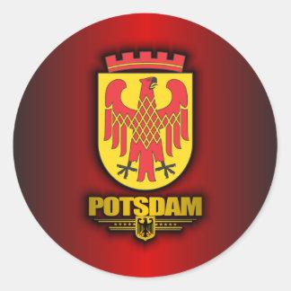 Potsdam Classic Round Sticker