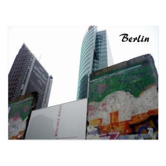 potsdamer del muro de Berlín Tarjetas Postales