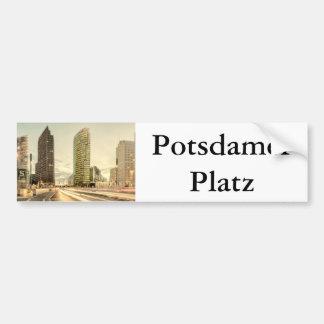 Potsdamer Platz en Berlín, Alemania Pegatina Para Auto