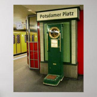 Potsdamer Platz Poster