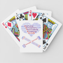 POTSIE Love Bicycle Playing Cards