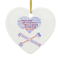 POTSIE Love Ceramic Ornament