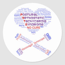 POTSIE Love Classic Round Sticker