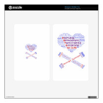POTSIE Love Kindle Fire Skin