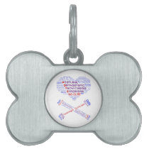 POTSIE Love Pet Name Tag