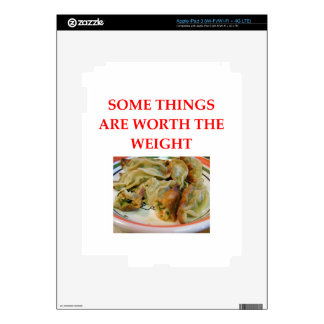 POTSTICKERS iPad 3 SKIN