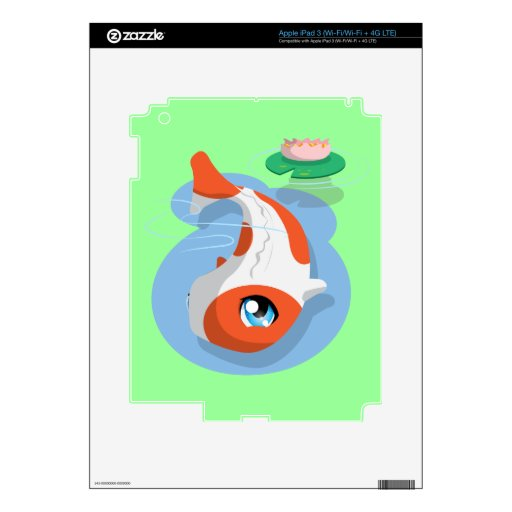 PotsuPotsu Skin For iPad 3