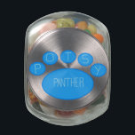 "POTSy Panther Jelly Beans Glass Jar<br><div class=""desc"">Have a treat and support a cause!</div>"