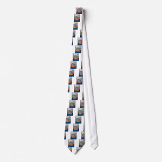 POTTED FIREPLACE NECK TIE