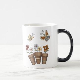 Potted Flower Garden Magic Mug