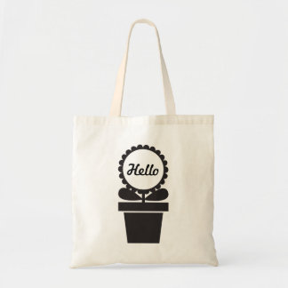 Potted Flower Tote Bag
