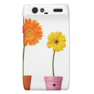 Potted flowers droid RAZR cover