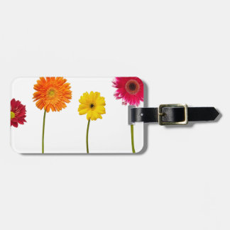 Potted flowers tag for luggage
