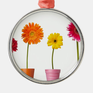 Potted flowers christmas ornaments