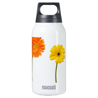Potted flowers thermos bottle