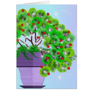 Potted Friendship Plant Card