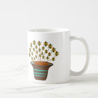 Potted Pinwheels Classic Coffee Mug