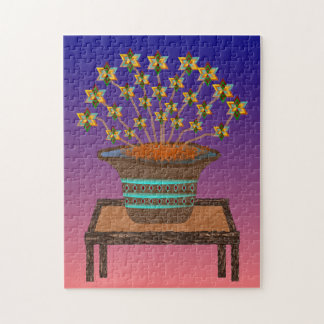Potted Pinwheels Jigsaw Puzzle 10x14