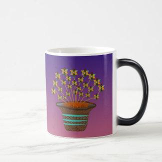 Potted Pinwheels Morphing Coffee Mug