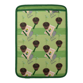 Potted Plant Gardening MacBook Sleeve