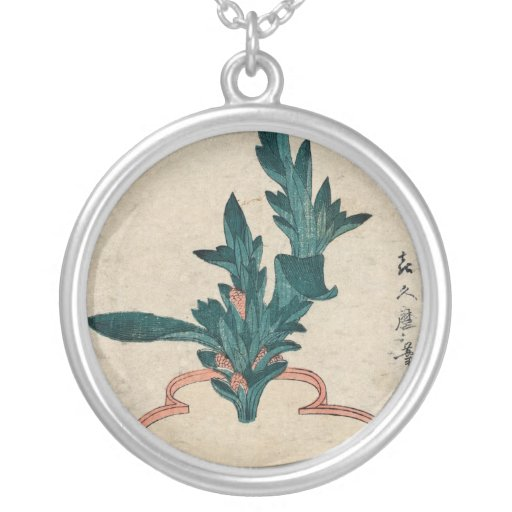 Potted Plant necklace