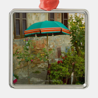 Potted plants in lawn San Gimignano Siena Ornament