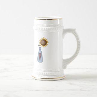 Potted Sunflower Coffee Mugs