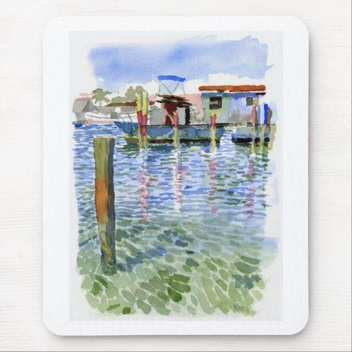 Potter Cay Docks mousepad