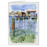 Potter Cay Docks note card