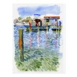 Potter Cay Docks postcard