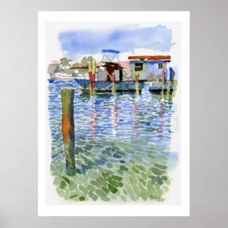 Potter Cay Docks print