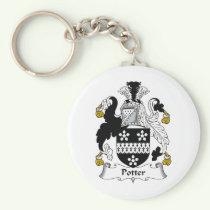 Potter Family Crest Keychain