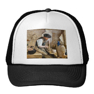 Potter Herman Kähler in his Workshop by L. A. Ring Trucker Hat