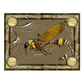 Potter Wasp Collector Card