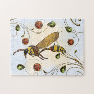 Potter Wasp Jigsaw Puzzle