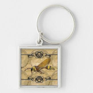Potter Wasp Keychain