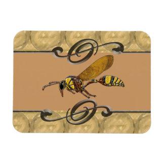 Potter Wasp Magnet